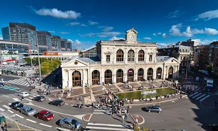 Venir au Grand Hôtel Lille par le train. Gare Lille Flandres et Gare Lille Europe.
